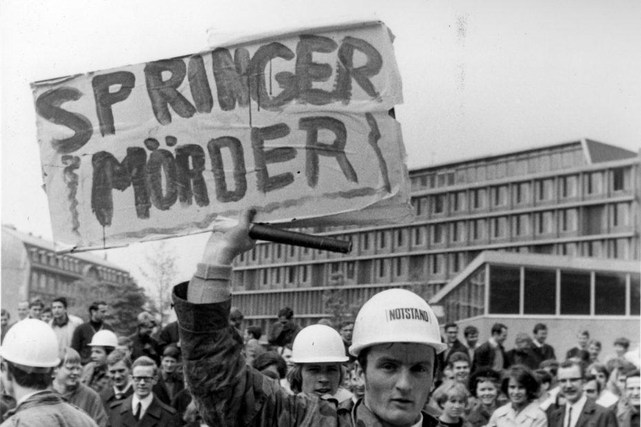 Gängeviertel: Studierendenproteste und Springerblockade